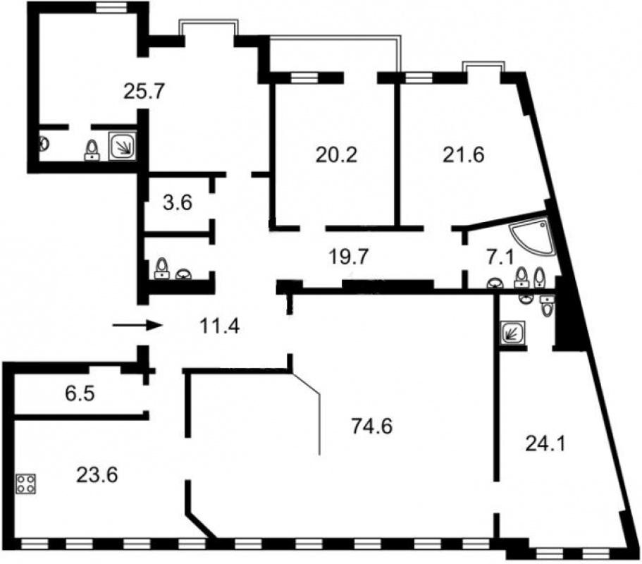 Продажа апартаментов на ул. Городецкого - АН Стольный Град фото 6