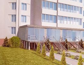 Продам нежилой фонд, 1 этаж, фасад Позняки.