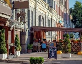 Аренда готового ресторана на Хоревой. Подол. Есть летняя площадка. фото 1