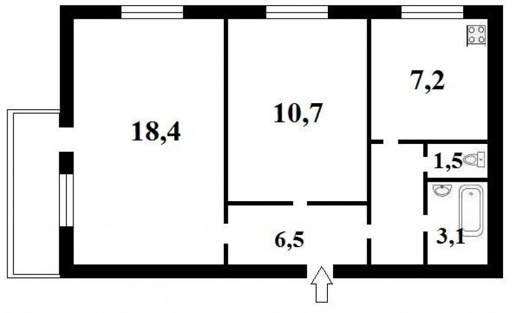 Продажа 2-комнатной квартиры Кловский спуск 4 -АН Стольный Град фото 9