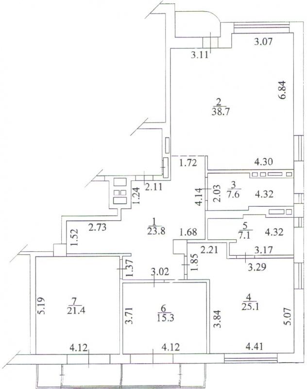 Продажа 4-к квартиры в новом клубном доме - АН Стольный Град фото 4