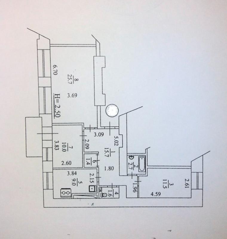 Продам 3-к квартиру на Шота Руставели - АН Стольный Град фото 14
