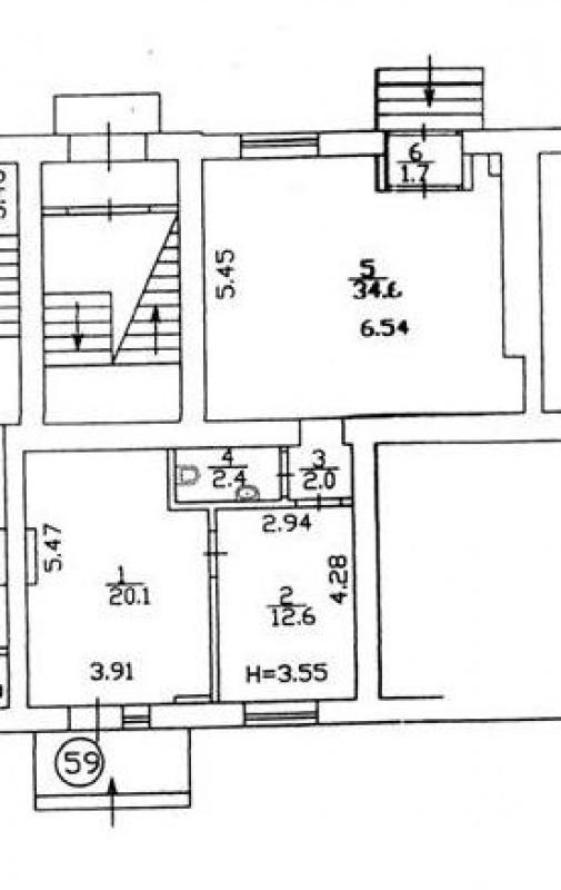 Продажа нежилое помещения на 1-м этаже ул. Белорусская - АН Стольный Град фото 3