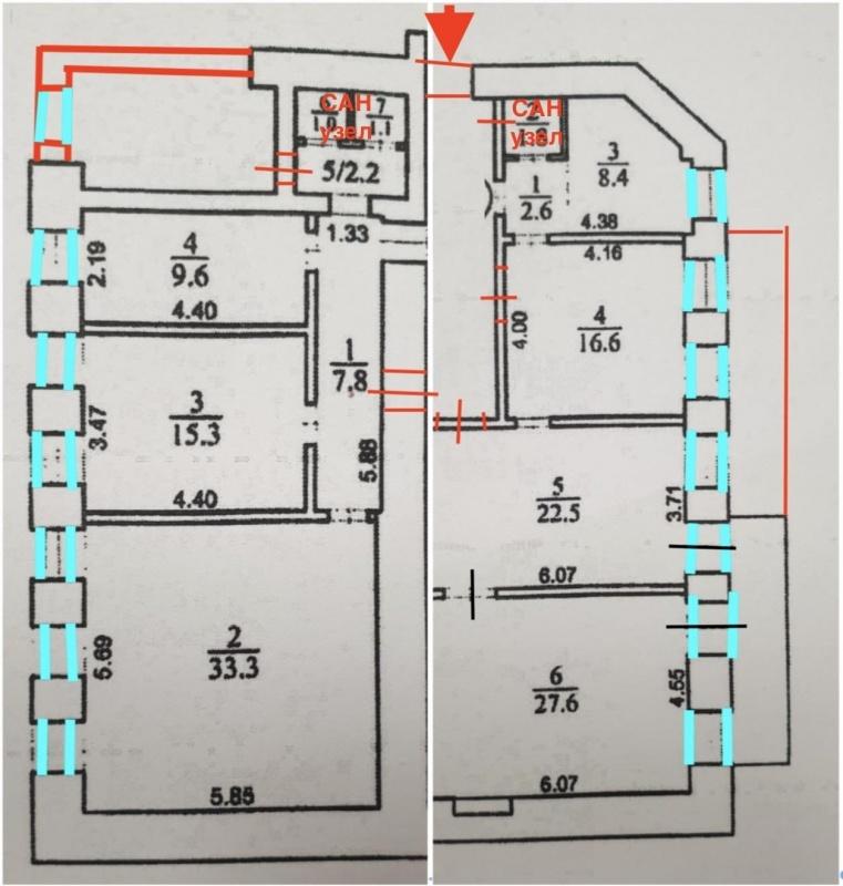 Продам квартиру в центре под офис ул. Большая Васильковская - АН Стольный Град фото 5