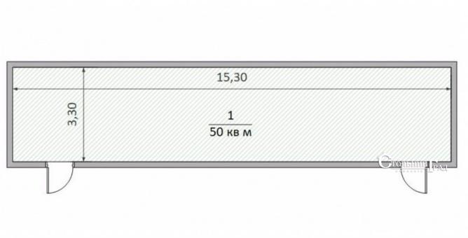 Аренда фасадного нежилого помещения 50 кв.м ул.Ревуцкого 12 - АН Стольный Град фото 4