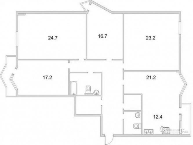 Продажа просторной 4-к квартиры в новом доме на Соломенке - АН Стольный Град фото 3