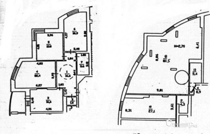Аренда 5-к квартиры с панорамным видом на правый берег - АН Стольный Град фото 6