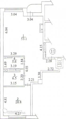 Продаж 2-к квартири 87 кв.м в клубному будинку Тургенєв - АН Стольний Град фото 7