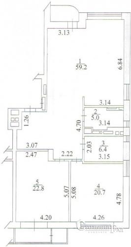 Продаж 3-к квартири в клубному будинку Тургенєв - АН Стольний Град фото 6