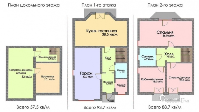 Продажа таун-хауса  200 кв.м. в Вите-Почтовой - АН Стольный Град фото 8