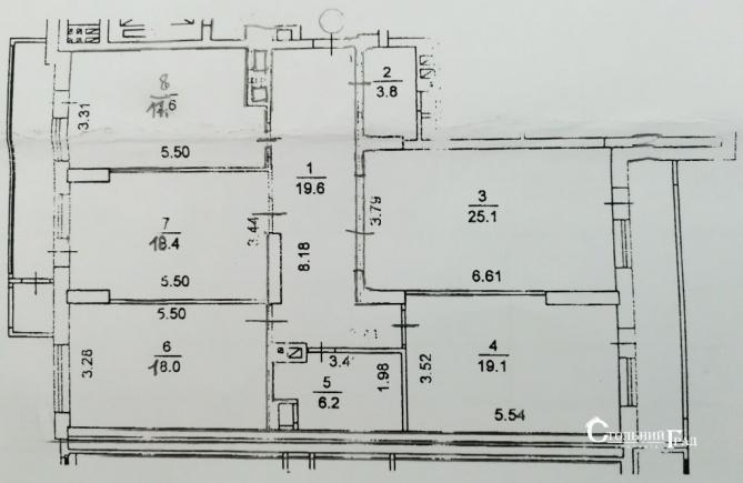 Продам 4-к квартиру в новом доме возле озера - АН Стольный Град фото 16