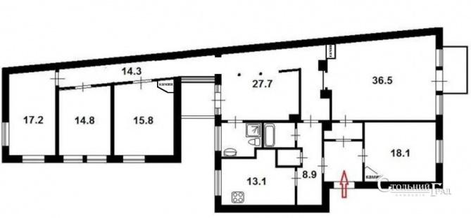 Продажа 5 комнатной квартиры на ул. Ярославов вал - АН Стольный Град фото 20