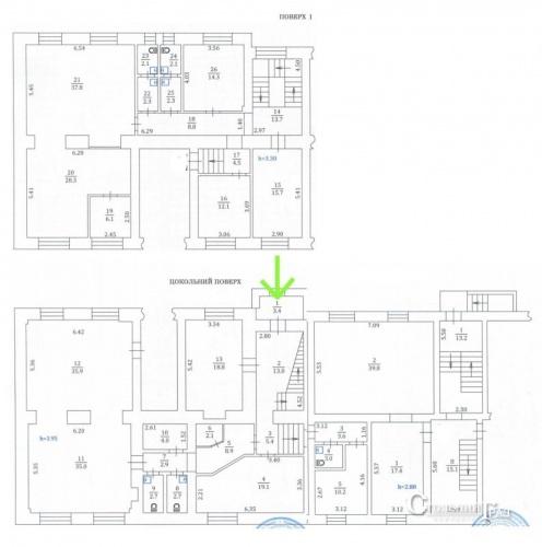 Продажа нежилого помещения 378 кв.м в центре ул.Никольско-Ботаническая 9 - АН Стольный Град фото 10