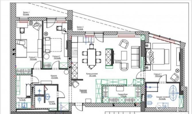 Продам 4-к апартаменты в клубном доме центр Киева - АН Стольный Град фото 23