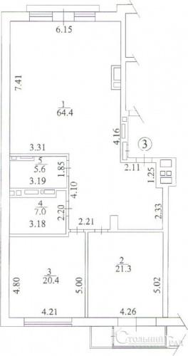 Продажа квартиры в новом клубном доме ТУРГЕНЕВ на Тургеневской - АН Стольный Град фото 8