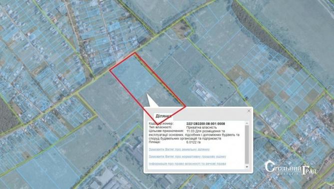 Продам участок под промышленное строительство в Броварах - АН Стольный Град фото 4