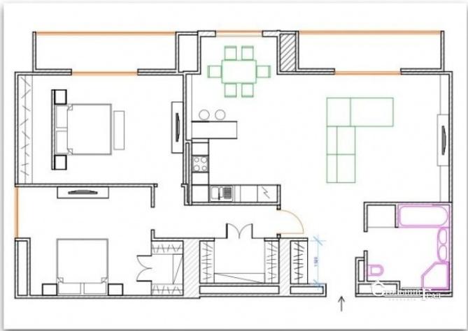 Продам 3-к квартиру в центрі з ремонтом в новому будинку - АН Стольний Град фото 13