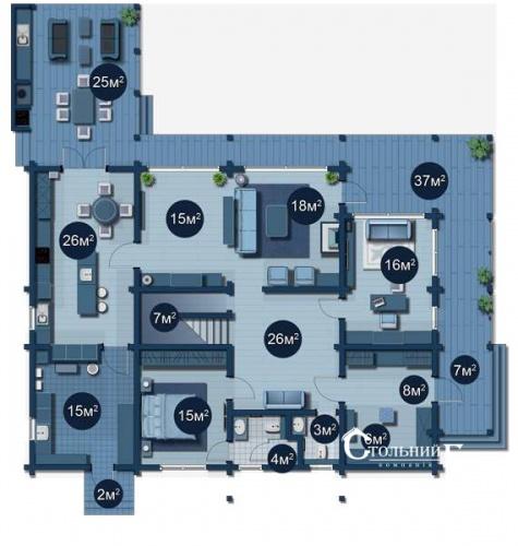 Продам дом в элитном коттеджном городке Riviera Villas - АН Стольный Град фото 31