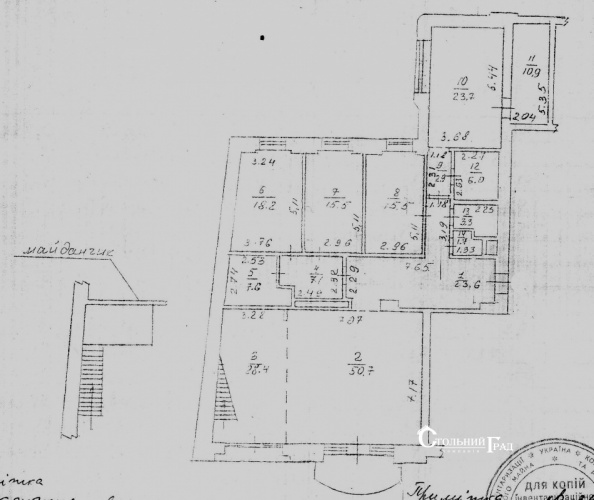 Продам эксклюзивные апартаменты в центре на пл.Льва Толстого - АН Стольный Град фото 47