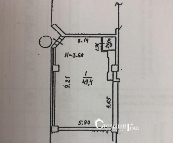 Аренда помещения 52 кв.м в центре на Большой Житомирской - АН Стольный Град фото 10