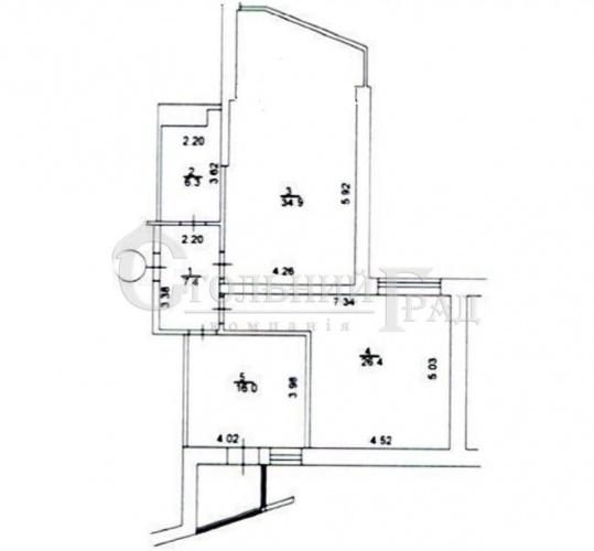 Продаж 3-к квартири 91 кв.м на Печерську - АН Стольний Град фото 2