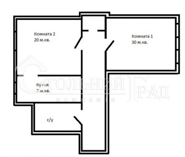Продам 2-к квартиру на Пушкинской в царском доме - АН Стольный Град фото 12