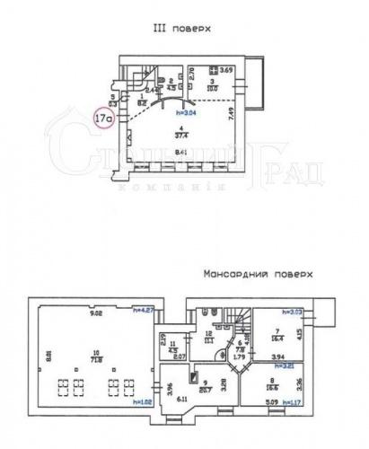 Продажа элитной двухуровневой квартиры в центре Киева - АН Стольный Град фото 19