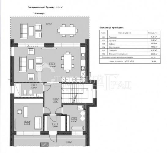 Продажа дома 215 кв.м в коттеджном городке на берегу Днепра - АН Стольный Град фото 4
