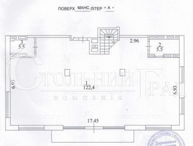 Продаж 3-х рівневої квартири з терасою в клубному будинку Тургенев - АН Стольний Град фото 17