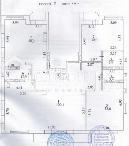Продаж квартири 501 кв.м в 3 поверхи в клубному будинку Тургенєв - АН Стольний Град фото 16