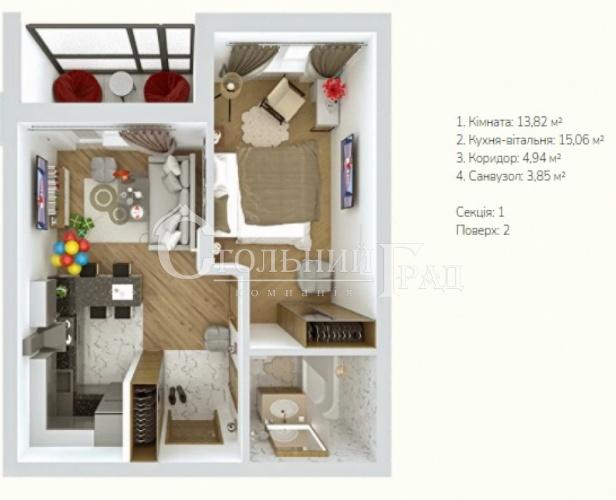 Продаж 1-к квартири в новому ЖК Verba в передмісті Києва - АН Стольний Град фото 8