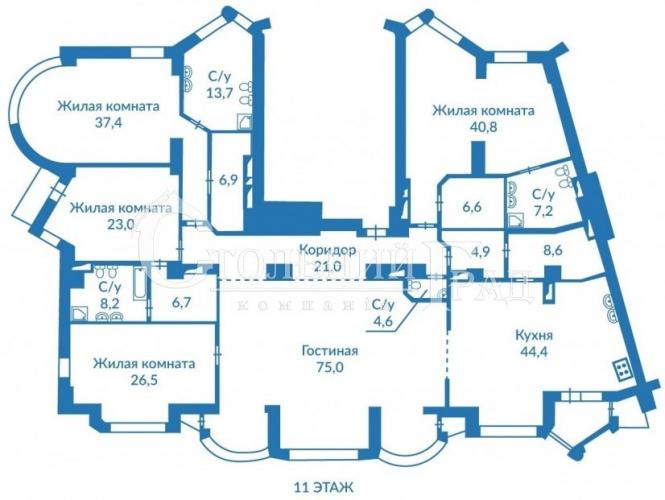 Продаж 5-к квартири 337 кв.м в центрі Києва - АН Стольний Град фото 2