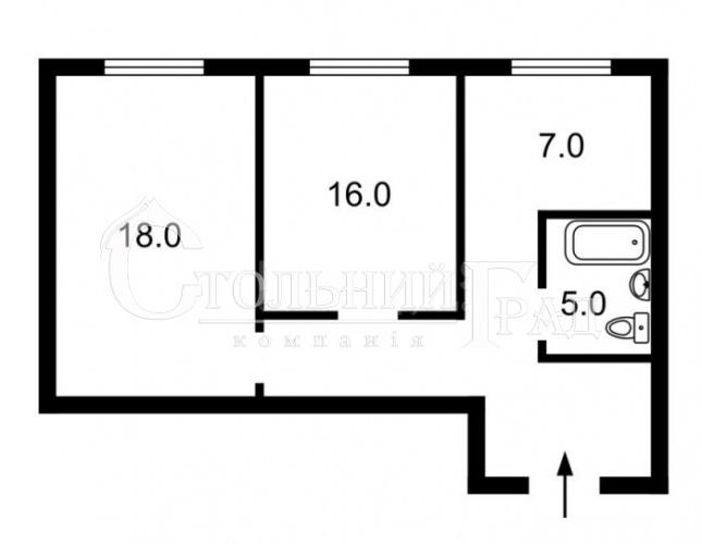 Продаж 2-к квартири в центрі поруч ТРЦ Гулівер - АН Стольний Град фото 8