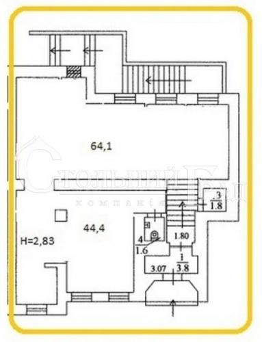 Продажа фасадного помещения 124 кв.м в центре - АН Стольный Град фото 7