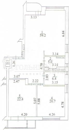 Продаж 3-х кімнатної квартири в новому будинку на Тургенівській - АН Стольний Град фото 5