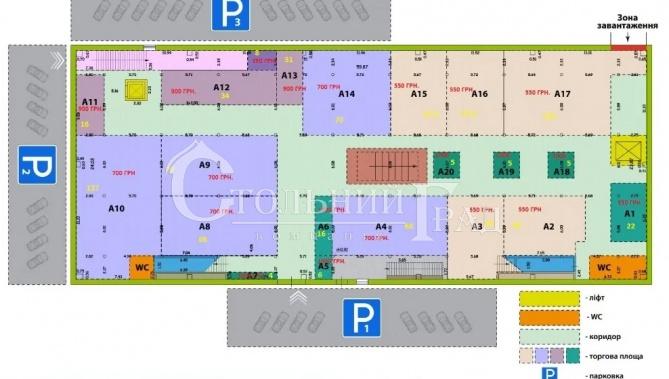 Оренда - торгові приміщення 900 кв.м на Харківському масиві - АН Стольний Град фото 2