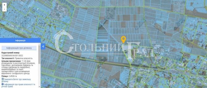 Продам ділянку промислового призначення 2.5 га в м Бориспіль - АН Стольний Град фото 3