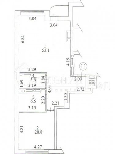 Перша оренда 2х-к квартири в тихому центрі в клубному будинку ТУРГЕНЄВ - АН Стольний Град фото 15