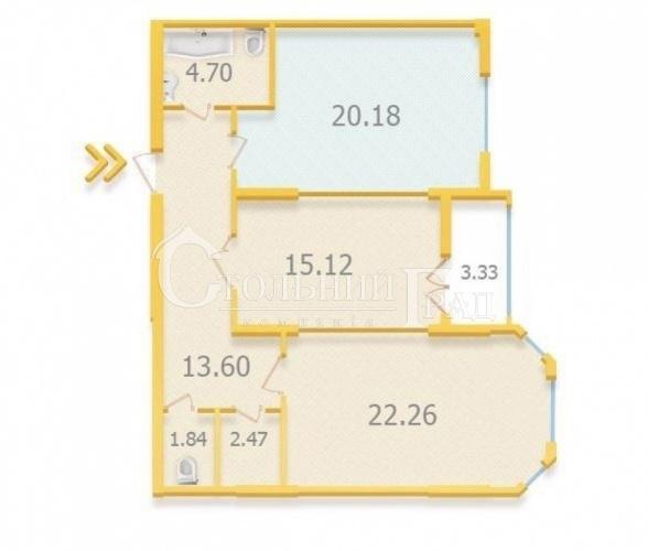 Продаж нової 3 кімнатної квартири 90 кв.м ЖК Аристократ - АН Стольний Град фото 14