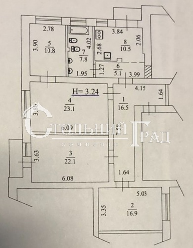 Sale 4-rooms apartments 114 sq.m on Lypky - Real Estate Stolny Grad photo 7