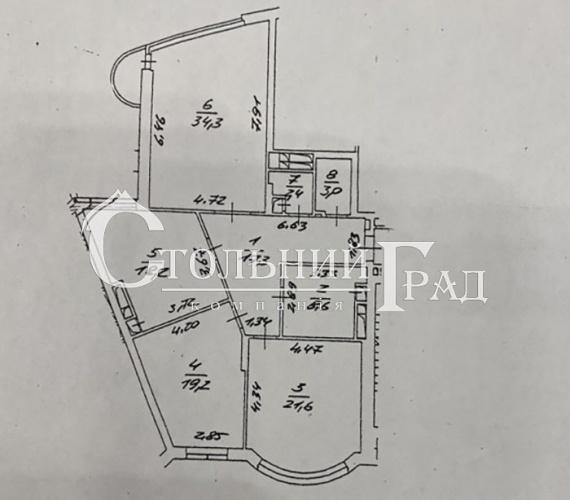 Продаж 3 кімнатної квартири 125 кв.м метро Печерська - АН Стольний Град фото 16