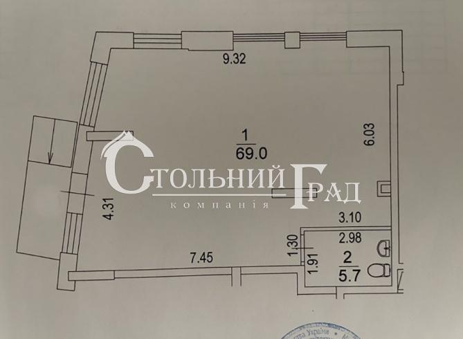 Оренда приміщення 75 кв.м в новому ЖК Автограф - АН Стольний Град фото 7