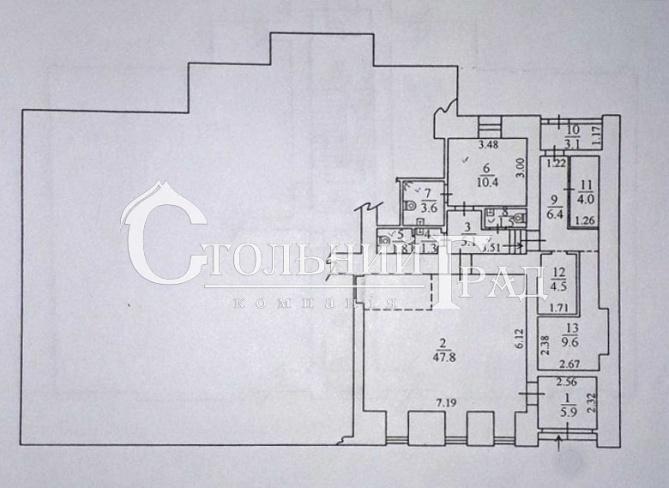 Оренда фасадного нежитлового приміщення 118 кв.м з вітринами в центрі - АН Стольний Град фото 3