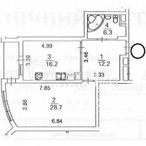 Продаж просторої 1-к квартири 65 кв.м в ЖК Смарагдовий - АН Стольний Град фото 12