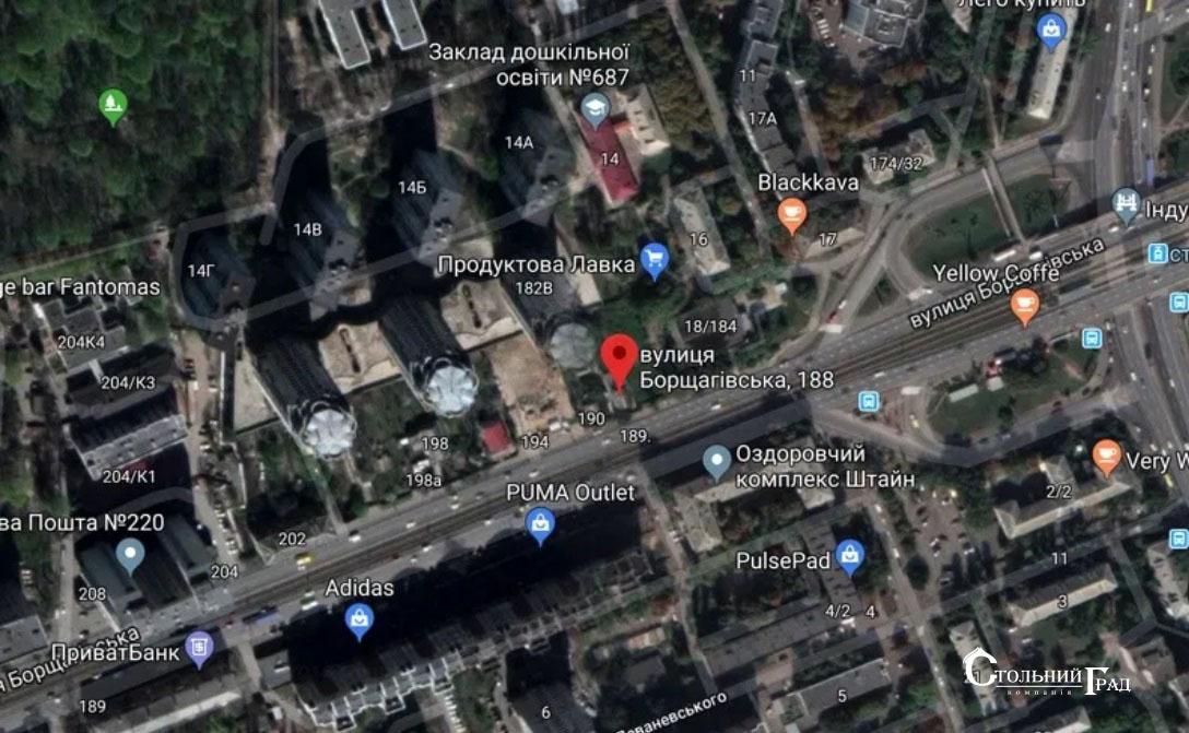 Продаж ділянки 6 соток по фасаду вул.Борщагівської - АН Стольний Град фото 1