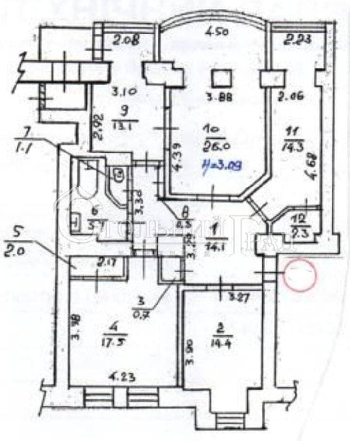 Продам 4-к квартиру 115 кв.м в історичному центрі - АН Стольний Град фото 2