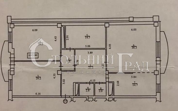 Продаж 3-к квартири 152 кв.м в новому будинку на Тургенівській - АН Стольний Град фото 2