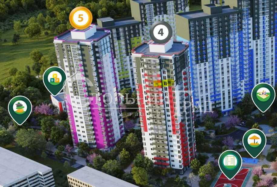 Продаж 2-к видової квартири 74 кв.м в новому ЖК Сирецькі сади - АН Стольний Град фото 3